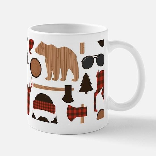 Lumberjack Design Mugs