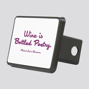 WINE IS... Rectangular Hitch Cover