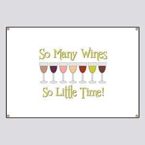 SO MANY WINES... Banner