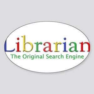 Librarian Rectangle Sticker