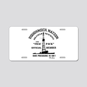 FRAC PACK Aluminum License Plate