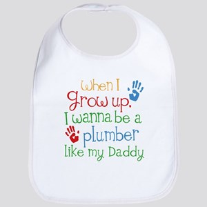 Plumber Like Daddy Baby Bib