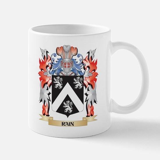 Rain Coat of Arms - Family Crest Mugs