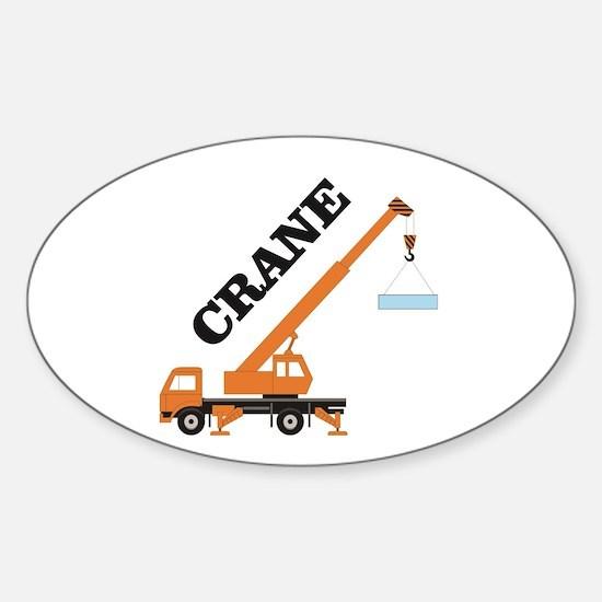 main crane lift haul Decal