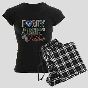 I Love My Army Family Pajamas