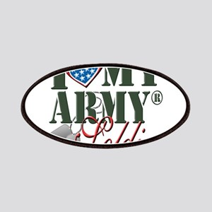 I Love My Army Family Patch