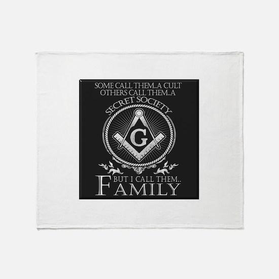 Masons Family Throw Blanket