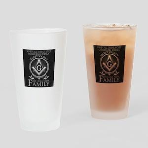 Masons Family Drinking Glass