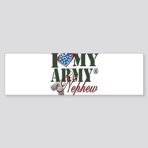 I Love My Army Family Bumper Sticker