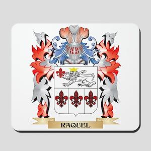 Raquel Coat of Arms - Family Crest Mousepad