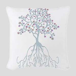 Spring Equinox Woven Throw Pillow