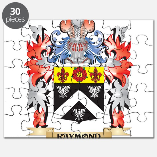 Raymond Coat of Arms - Family Crest Puzzle