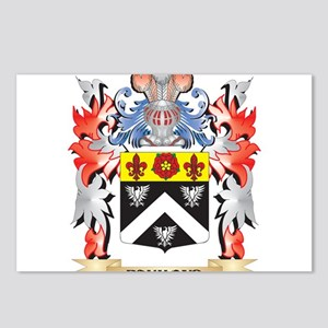 Raymond Coat of Arms - Fa Postcards (Package of 8)