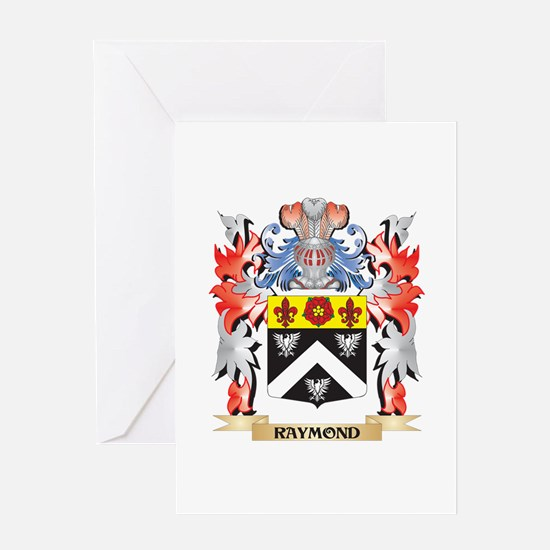 Raymond Coat of Arms - Family Crest Greeting Cards