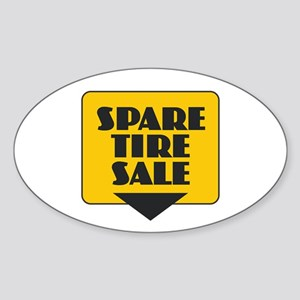 Spare Tire Sale Sticker