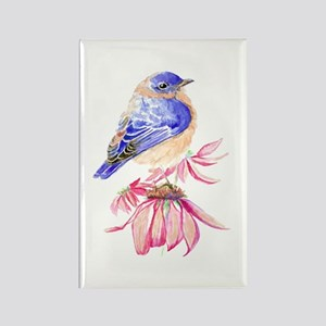 Watercolor Eastern Bluebird Beautiful Magnets