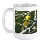American Goldfinch Large Mug