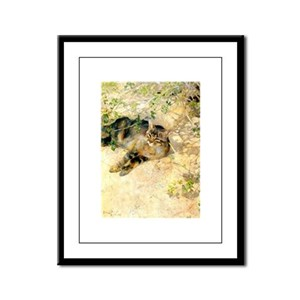 catsinart Framed Panel Print