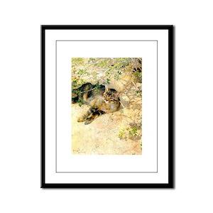 catsinart Framed Panel Print