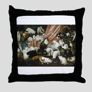 catsinart Throw Pillow