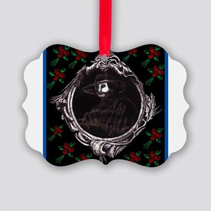 Phantom, (with Red Roses) Picture Ornament