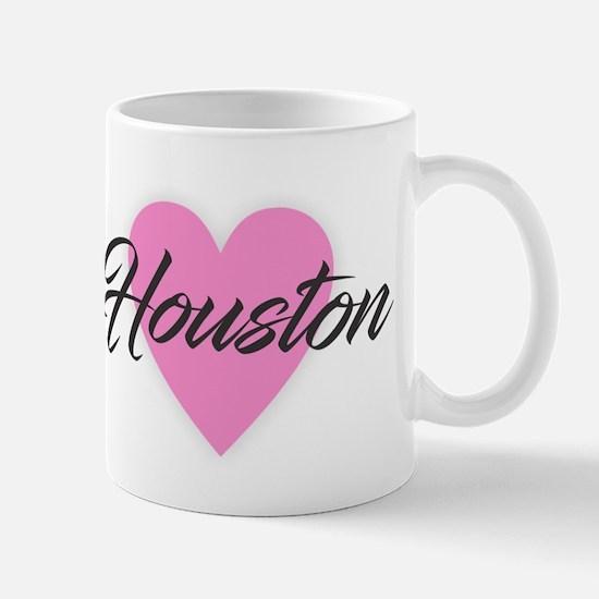 I Heart Houston Mugs