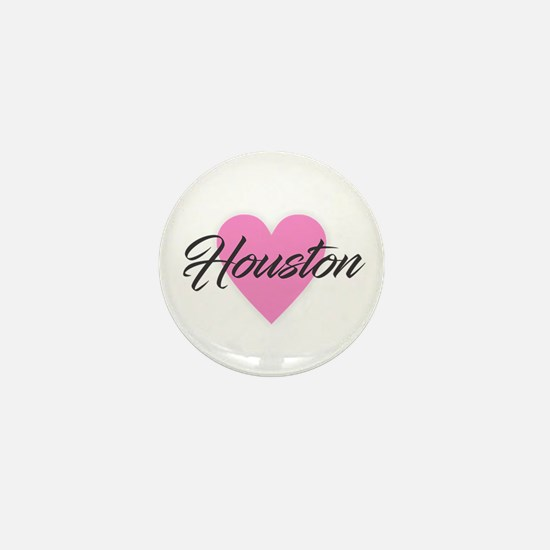 I Heart Houston Mini Button