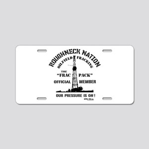 THE FRAC PACK Aluminum License Plate