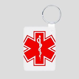 Medical Alert Diabetes Keychains