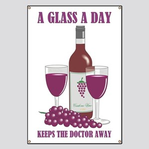 A GLASS A DAY Banner