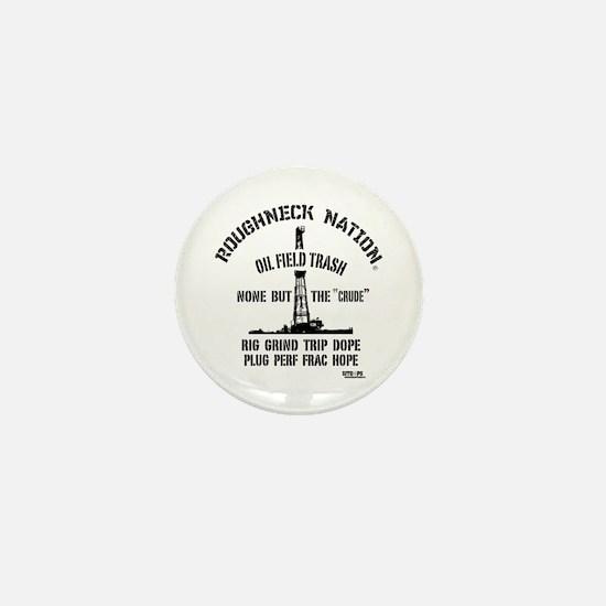 OILFIELD TRASH Mini Button