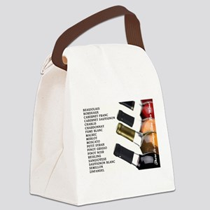 ALWAYS TIME FOR WINE Canvas Lunch Bag