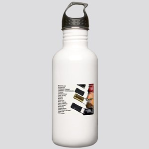 ALWAYS TIME FOR WINE Stainless Water Bottle 1.0L