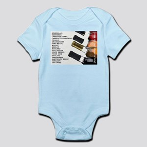 ALWAYS TIME FOR WINE Infant Bodysuit