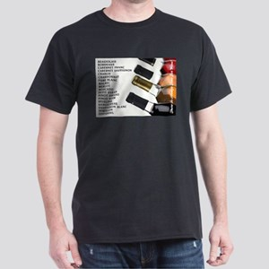 ALWAYS TIME FOR WINE Dark T-Shirt