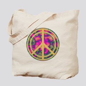 Peace Sign Tote Bag