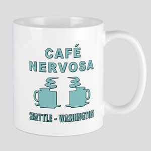 CAFE NERVOSA Mugs