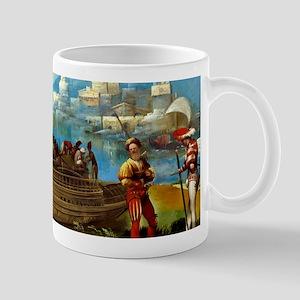 Aeneas and Achates on the Libyan Coast Mugs