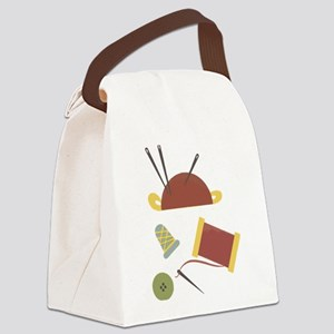 Sewing Kit Canvas Lunch Bag