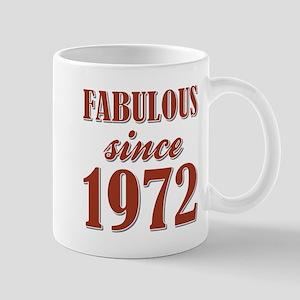 FABULOUS SINCE 1972 Mugs
