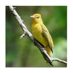 Lady Goldfinch Tile Coaster