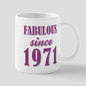 FABULOUS SINCE 1971 Mugs