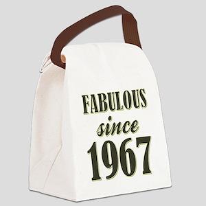 FABULOUS SINCE 1967 Canvas Lunch Bag