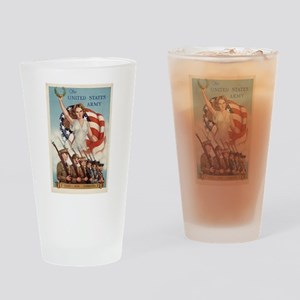 US Army Forever Drinking Glass