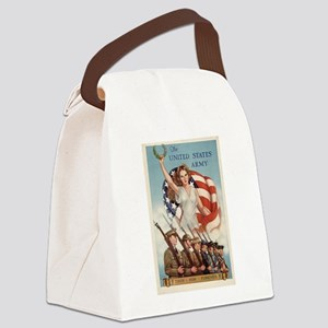 US Army Forever Canvas Lunch Bag