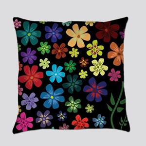 Floral print Everyday Pillow