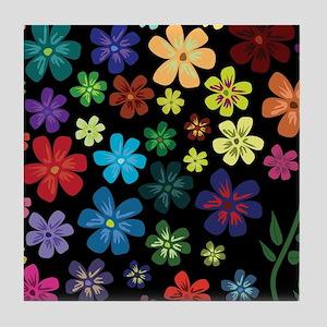Floral print Tile Coaster