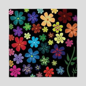 Floral print Queen Duvet