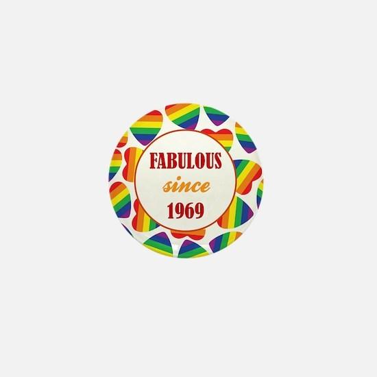 1969 (HEARTS) Mini Button