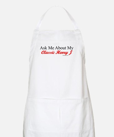 """""""Ask About My Henry J"""" BBQ Apron"""